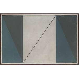 CARVÃO, Aluisio (Belém PA 1920 - Poços de Caldas MG 2001)<br />25x49 cm./ 27x51 cm.<br />O.S.M.<br />Composição<br />Certificado de autenticidade por Beatriz Danton Coelho Carvão.
