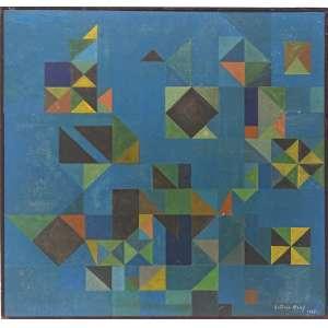 ANTONIO MALUF (São Paulo, 1926 — São Paulo, 2005)<br />44x43 cm./ 44x45 cm.<br />O.S.M.<br />Composição, 1957<br />Certificado no Projeto Maluf:30967.<br />