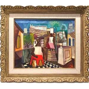 DI CAVALCANTI<br />60x73 cm.<br />Óleo sobre tela<br />Bahianas, 1967.<br />reproduzido no Catálogo da Sothebys- Sale Date: May 27, 1998<br />http://www.artnet.com/artists/emiliano-di-cavalcanti/10