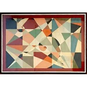 FLEXOR, Samson (Soroca, Bessarábia, Rússia 1907 - São Paulo SP 1971)<br />Medidas: 50 x 70 cm.<br />Gouache sobre madeira<br />1954<br />