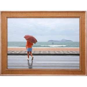 "Renato Meziat<br />""Rainy Day""<br />Óleo sobre tela<br />Medidas: 88 x 122 cm.<br />2008"