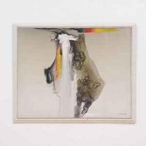 KENJI FUKUDA (Indiana, 1943) <br />Sem Título. <br />Acrílico s/ tela<br />Ass. cid. <br />Medidas: 80 x 100 cm. <br /><br />Pintor filho do imigrante japonês Tamotsu Fukuda, também pintor, começou a desenhar seus primeiros rascunhos aos 12 anos de idade. Expôs suas obras em Berlim (1985), Paris (1989) e Los Angeles (1990).
