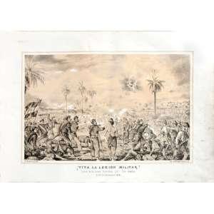 Doze gravuras originais de Adolf METHFESSEL com o tema Guerra do Paraguai. <br />Século XIX. <br />Medidas: aproximadamente 33 x 48 cm cada. <br />Perfeito estado de conservação. No estojo. SOLTAS