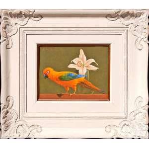 NILTON MENDONÇA<br />Medidas: 27,9 x 35,5 cm. / 64 x 72 cm.<br />Óleo sobre tela de viagem: Fredrix, USA, 11 x 14<br />Maritaca, 2004.