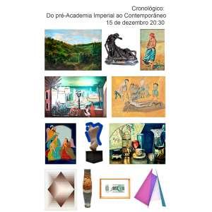 Galeria Paiva Frade - Cronológico: Do pré-Academia Imperial ao Contemporâneo