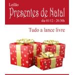 Galeria Paiva Frade - PRESENTES DE NATAL - TUDO A LANCE LIVRE - Cortesia - embalagens para presente!