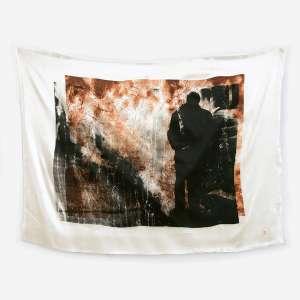 Miguel Rio Branco - 2007. Impressão fotográfica sobre seda. Com carimbo do artista inferior direito. Edição de 30. 50 x 68 cm.