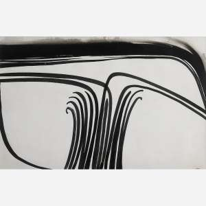Abelardo Zaluar - Nanquim sobre papel. Situado Roma inferior direito. 34 x 57 cm.