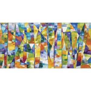 GONÇALO IVO - A Grande Paisagem. Óleo sobre tela. Assinado, datado 2006, titulado e situado Paris no verso. 97 x 196 cm. R$ 50.000 / 70.000 - Participou da exposição do artista na Galeria Murilo Castro, 30/10 a 24/11/2007