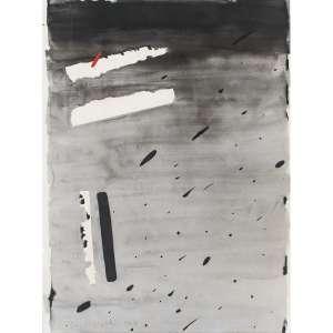 ANNA MARIA MAIOLINO - Guache sobre papel. Assinado e datado 1983 inferior esquerdo. Com pintura no verso. 95 x 69 cm. R$ 40.000 / 60.000