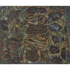 FRANS KRAJCBERG - Óleo e colagem sobre tela. Assinado inferior esquerdo. 38 x 46 cm. R$ 20.000 / 25.000