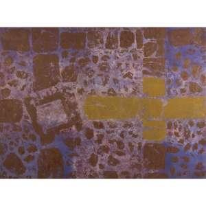 """CARLOS VERGARA - Monotipia e pigmentos sobre tela. 185 x 250 cm. R$ 60.000 / 90.000 - Participou da 1ª Bienal de Artes Visuais do Mercosul, - 2/10 a 30/11/1997, Porto Alegre – RS. Participou da exposição """"Viajantes"""" no Paço Imperial, 1998, Rio de Janeiro – RJ."""