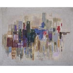 IONE SALDANHA - Óleo sobre tela. Assinado centro inferior. 56 x 70 cm. R$ 70.000 / 90.000