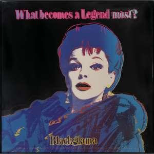 """ANDY WARHOL - Judy Garland Blackglama. Da série """"Anúncios"""", 1985. Serigrafia. Assinada e numerada PP 1/5 inferior esquerdo. 97 x 97 cm. R$ 30.000 / 40.000"""