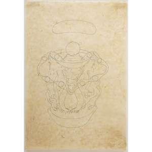TUNGA - Grafite em papel do Himalaia. Assinado e datado 2013 inferior direito. 76 x 50 cm. R$ 40.000 / 60.000