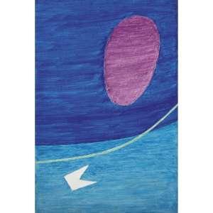 ALFREDO VOLPI - Bandeirinha com Escudo, década de 70. Têmpera sobre tela. Assinado no verso. 48 x 32 cm. R$ 450.000 / 550.000