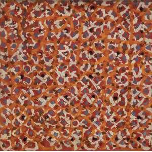 """WALDEMAR CORDEIRO<br />ÓLEO E ALGODÃO SOBRE TELA. 1963.ddd74 x 74 cm.<br /><br /><br />PROCEDÊNCIA: FAMÍLIA WALDEMAR CORDEIRO, COLEÇÃO PRIVADA ALEMANHA, COLEÇÃO JEAN BOGHICI E COLEÇÃO PRIVADA RIO DE JANEIRO.<br /><br />EXPOSIÇÕES:<br />""""WALDEMAR CORDEIRO – UMA AVENTURA DA RAZÃO"""", MUSEU DE ARTE CONTEMPORÂNEA DA UNIVERSIDADE DE SÃO PAULO, 7 DE AGOSTO DE 1986 A 7 DE SETEMBRO DE 1986.<br />""""WALDEMAR CORDEIRO FANTASIA EXATA"""", 2013, ITAÚ CULTURAL, SÃO PAULO, 4 DE JULHO A 22 DE SETEMBRO 2013 E NO PAÇO IMPERIAL, RIO DE JANEIRO, 18 DE DEZEMBRO DE 2014 A 1 DE MARÇO DE 2015.<br />BIBLIOGRAFIA:<br /><br />CORDEIRO, FANTASIA EXATA, ITAÚ CULTURAL, SÃO PAULO, 2013, REPRODUZIDA NA PÁGINA 416.<br />WALDEMAR CORDEIRO: DA ARTE CONCRETA AO """"POPCRETO"""", FABRICIO VAZ NUNES, UNIVERSIDADE ESTADUAL DE CAMPINAS, DEPARTAMENTO DE HISTÓRIA INSTITUTO DE FILOSOFIA E CIÊNCIAS HUMANAS, MAIO 2004.<br />REVISTA DO IEB N. 45, SETEMBRO DE 2007.<br /> <br /><br />"""