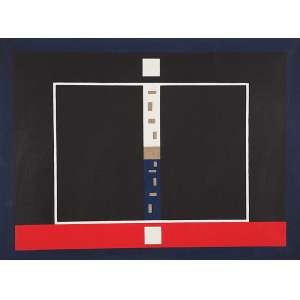 """ANTÔNIO MANUEL<BR>""""Totem - quase tudo""""<br>Acrílica sobre linho.<br>Ass.tit. e dat.1986 no verso.<br>90 x 102 cm.<br>Com certificado de autenticidade da Galeria Raquel Arnauld.<br>"""