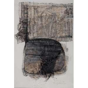 TOMOSHIGUE KUSUNO<br>Sem titulo<br>Nanquim e guache sobre papel<br>86 x 59 cm<br>Ass.inf.dir<br>1963<br>