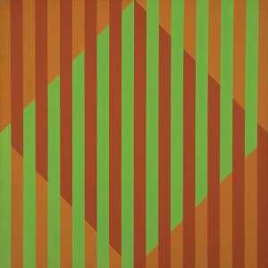 SACILOTTO<br>C.8859<br>Têmpera vinilica sobre tela<br>110 x 110 cm<br>Ass.inf.dir<br><br>