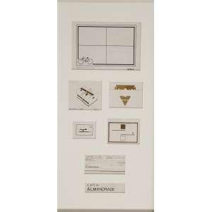 ALMANDRADE - A arte de Almandrade - Nanquim sobre papel - 56 x 26 cm - Ass. - 1975