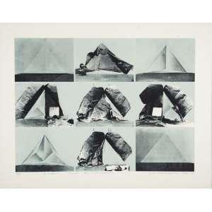 "LYDIA OKUMURA - Situation - Litografia - 9/15 - 45 x 60 cm - Ass.dat. 1974, loc. ""N.Y"" inf.dir"
