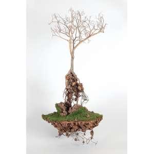 JORGE MAYET - Sem titulo Fio de cobre, papel maché, tinta acrílica e fibra sintética. Sem ass. 88 x 45 x 35 cm. Com certificado da Inox Galeria de Arte.