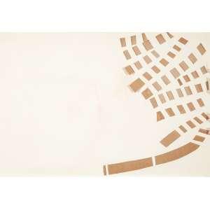 JOSÉ RESENDE - Sem titulo Recorte e incisão sobre cartão. Ass.dat. 1975 no verso. 49 x 70 cm.