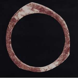 "TOMIE OHTAKE<br>""Posição II""<br> Litografia.<br> Ass. dat.1972 inf.dir.<br> 48,5 x 48 cm.<br> <br>"