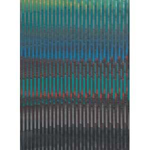 """PALATNIK<br>""""W 385""""<br> Acrílica sobre madeira.<br> Ass. num. e dat. 2012 no verso.<br> 45,7 x 33,6 cm.<br> Procedência: Galeria de Arte Murilo Castro.<br>"""