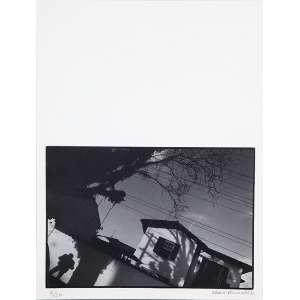 """CÁSSIO VASCONCELLOS - """"Sem titulo"""" Fotografia preto e branco. 2/20. Ass.dat. 1983 inf.dir. 15 x 21 cm."""