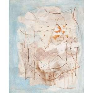 "HENRIQUE BOESE - ""Sem titulo"" Óleo sobre tela. Ass. dat. 1977 inf. dir. 60 x 50 cm."
