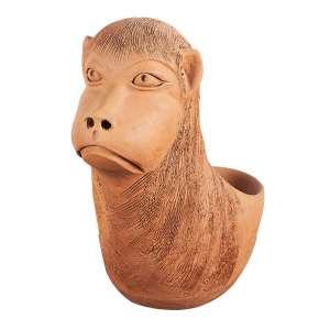 """ANA DAS CARRANCAS - """"Sem titulo"""" Escultura em cerâmica. Ass. 30 cm altura."""