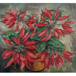 "TOLEDO PIZA - ""Vaso de flores"" - Óleo sobre tela - Ass. centro sup. - 54,5 x 59,5 cm"