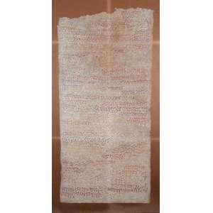 """PAULO GARCEZ - """"Figuras"""" - Desenho a lápis de cor sobre papel colado eucatex - Ass.dat.1981 inf. dir. - 123 x 58 cm"""