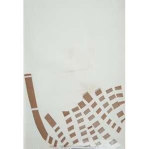 """JOSÉ RESENDE - """"Sem título"""" - Recorte e incisão sobre cartão - Ass.dat. 1975 no verso. - 49 x 70 cm"""