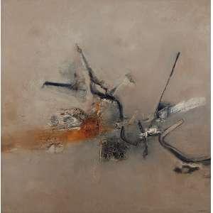 "DI PRETE - ""Abstrato"" - Óleo sobre tela - Ass.dat.1962 inf. dir. - 100 x 100 cm"