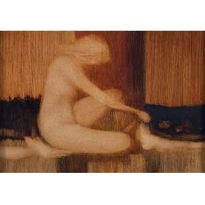 """ENRICO BIANCO - """"Mulher"""" - Óleo sobre eucatex - Ass.dat.1976 inf. dir, ass. dat. no verso. - 26 x 36 cm"""