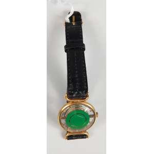 Juvenia relógio a corda modelo esquileto feminino funcionando em bom estado, pulseira original.