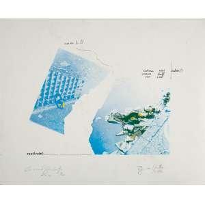 "REGINA VATER ""Rest (rain)"" -S erigrafia - 2/20 - Ass.dat.1974 inf. dir . 35 x 43 cm."