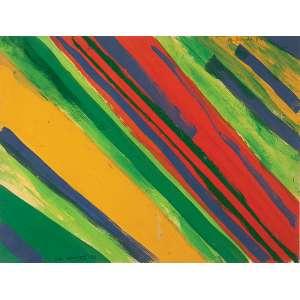 "NIOBE XANDÓ ""Sem título"" - Guache sobre papel.Ass.dat.1984 sup.dir. 26 x 34 cm."