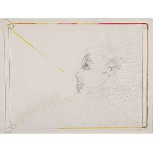 CARLOS VERGARA - Sem título- Grafite, nanquim e guache sobre papel - Ass.dat.1973 inf.dir.