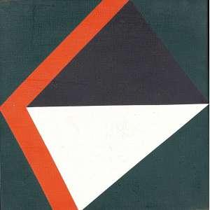 VALDEIR MACIEL - Sem título- Óleo sobre tela - Ass.dat.1982 no verso. - 30 x 30 cm