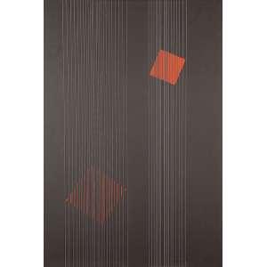 LOTHAR CHAROUX - Quadrados - Acrílica sobre cartão sobre eucatex - Ass.dat.1974 inf.dir, ass.dat.sup.esq. - 100 x 70 cm - Com etiqueta da Cosme Velho Galeria de Arte.