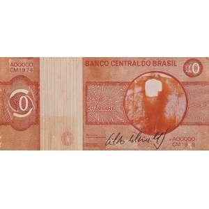 """CILDO MEIRELES - """"Zero Cruzeiro"""" - Litografia sobre papel. Assinada. - 7 x 15,5 cm"""
