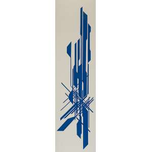 """ZEZÃO - """"Sem título"""" - Colagem sobre MDF - Ass.dat.2020 no verso. - 145 x 39 cm"""