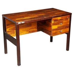 L'ATELIER - Escrivaninha em jacarandá - 67,5 x 100 x 50 cm