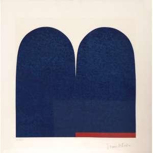 Tomie Ohtake<br>Sem título - serigrafia 12/100 <br>50 x 50