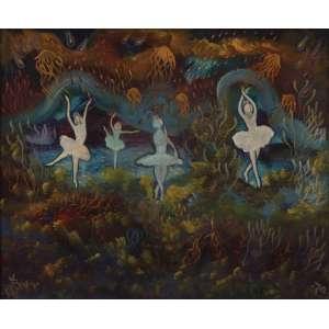 Bax<br>Bailarinas - ost <br>1970 - 50 x 60