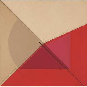 Abelardo Zaluar<br>Indicação - vinílica sobre tela <br> 1980 -70 x 70